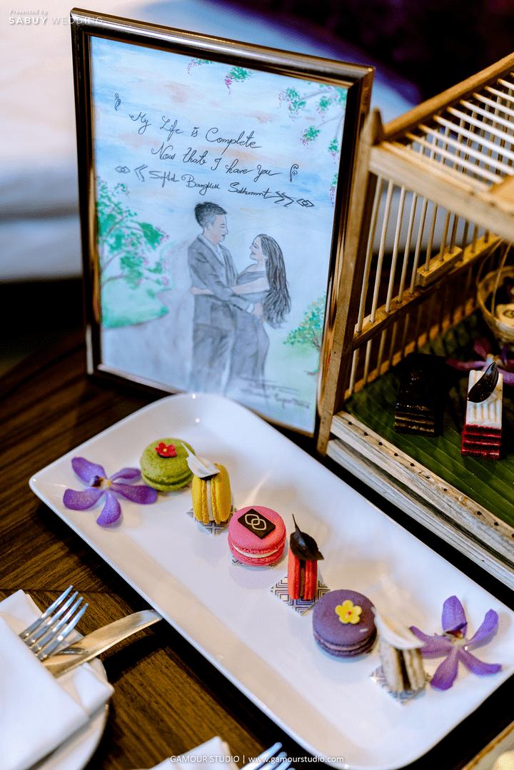 งานแต่งงาน รีวิวงานแต่งมินิมอลสไตล์ สวยสบายตาด้วยโทนสีขาวคลีน @ Sofitel Bangkok Sukhumvit