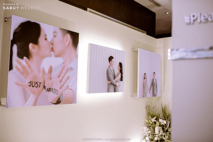 ตกแต่งงานแต่ง,ออแกไนเซอร์ รีวิวงานแต่งมินิมอลสไตล์ สวยสบายตาด้วยโทนสีขาวคลีน @ Sofitel Bangkok Sukhumvit