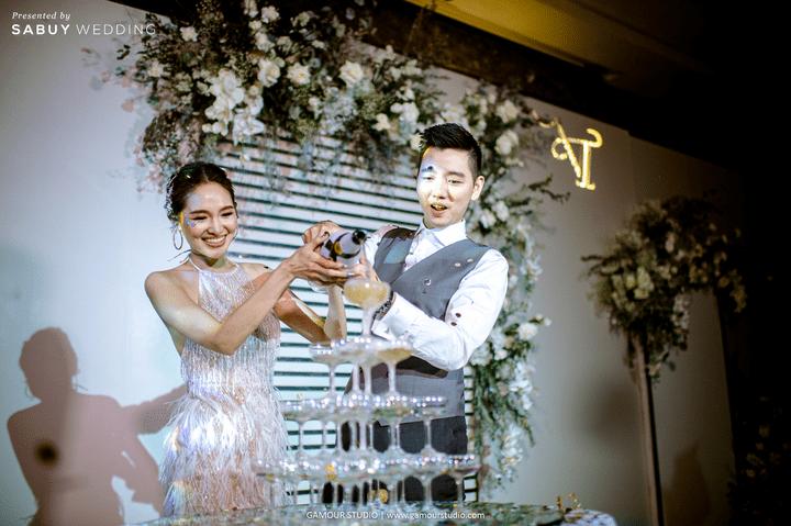 รีวิวงานแต่งมินิมอลสไตล์ สวยสบายตาด้วยโทนสีขาวคลีน @ Sofitel Bangkok Sukhumvit