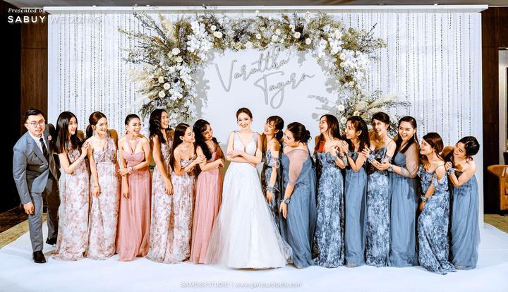 เพื่อนเจ้าสาว,เจ้าสาว,ชุดแต่งงาน,ชุดเจ้าสาว รีวิวงานแต่งมินิมอลสไตล์ สวยสบายตาด้วยโทนสีขาวคลีน @ Sofitel Bangkok Sukhumvit