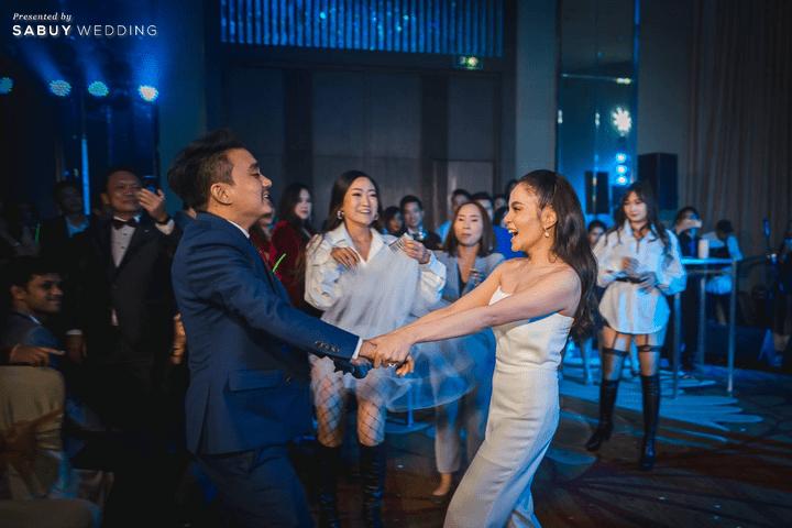 backdrop, ชุดเจ้าสาว, ชุดเจ้าบ่าว, สถานที่จัดงานแต่งงาน รีวิวงานแต่งสุดประทับใจ เซอร์ไพรส์ After Party ด้วยเพลงยอดฮิต @ Bangkok Marriott Hotel Sukhumvit