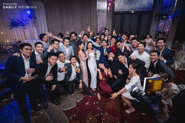สถานที่จัดงานแต่งงาน, backdrop, ชุดบ่าวสาว รีวิวงานแต่งสุดประทับใจ เซอร์ไพรส์ After Party ด้วยเพลงยอดฮิต @ Bangkok Marriott Hotel Sukhumvit