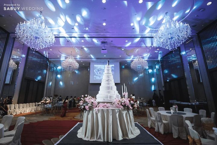 สถานที่จัดงานแต่งงาน, เค้กแต่งงาน รีวิวงานแต่งสุดประทับใจ เซอร์ไพรส์ After Party ด้วยเพลงยอดฮิต @ Bangkok Marriott Hotel Sukhumvit