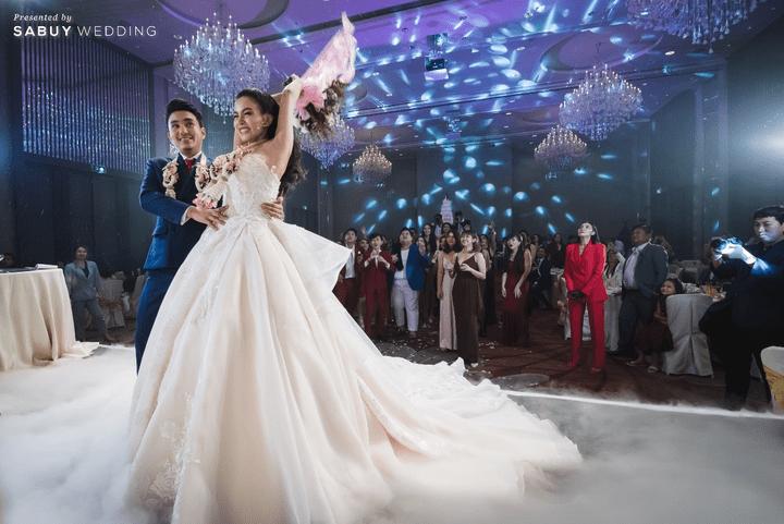 สถานที่จัดงานแต่งงาน, ชุดบ่าวสาว, ช่อดอกไม้ รีวิวงานแต่งสุดประทับใจ เซอร์ไพรส์ After Party ด้วยเพลงยอดฮิต @ Bangkok Marriott Hotel Sukhumvit