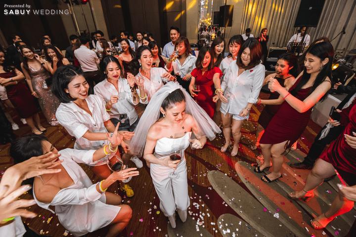 รีวิวงานแต่งสุดประทับใจ เซอร์ไพรส์ After Party ด้วยเพลงยอดฮิต @ Bangkok Marriott Hotel Sukhumvit