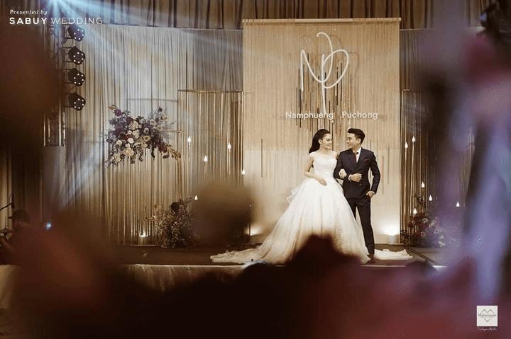 สถานที่จัดงานแต่งงาน, ชุดบ่าวสาว, backdrop รีวิวงานแต่งสุดประทับใจ เซอร์ไพรส์ After Party ด้วยเพลงยอดฮิต @ Bangkok Marriott Hotel Sukhumvit