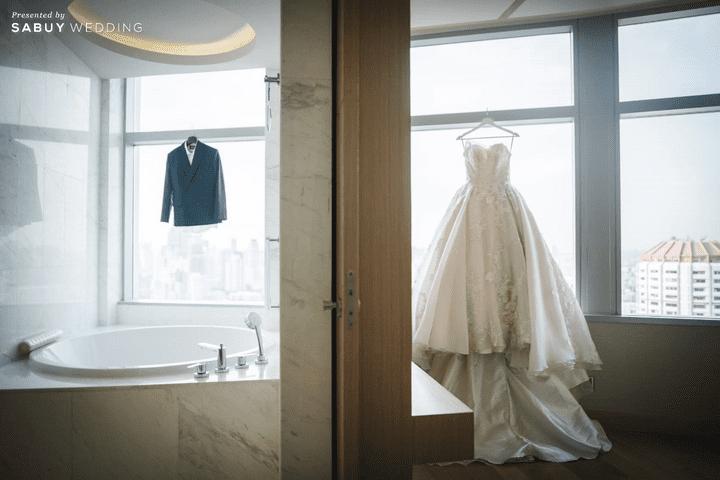 สถานที่จัดงานแต่งงาน, ชุดบ่าวสาว รีวิวงานแต่งสุดประทับใจ เซอร์ไพรส์ After Party ด้วยเพลงยอดฮิต @ Bangkok Marriott Hotel Sukhumvit