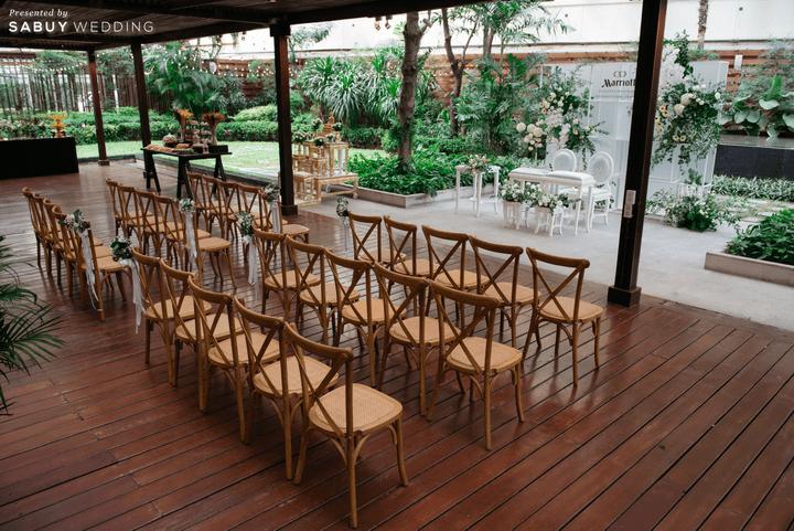 Marriott Sukhumvit Park Bangkok สถานที่แต่งงานในสวนสุดอบอุ่น สวยครบจบทั้ง Indoor & Outdoor