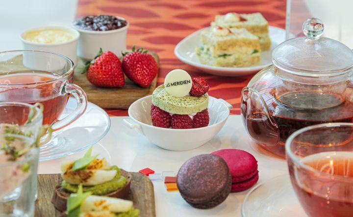 เฉลิมฉลองเทศกาลแห่งความรักกับคนรู้ใจ ในช่วงเวลาสุดพิเศษ กับ (AVEC AMOUR) BY LE MERIDIEN ที่ โรงแรมเลอ เมอริเดียน กรุงเทพ