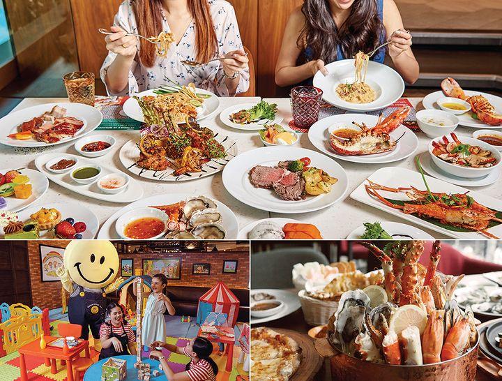 วันหยุดสุดอร่อย กับอมาญา ซันเดย์ บรันช์ ณ โรงแรมอมารี วอเตอร์เกท กรุงเทพฯ