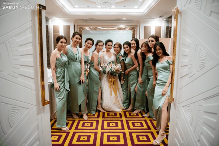 รีวิวงานแต่งสวยปังอลังการในธีม Autumn สุดอบอุ่น @ The Berkeley Hotel Pratunam