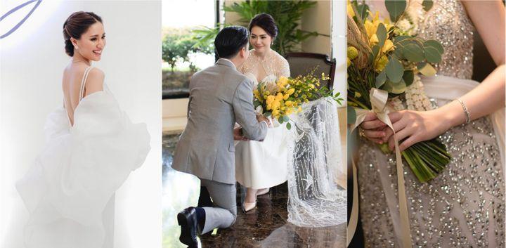 ชุดแต่งงานดีไซน์ล้ำ! เปลี่ยนหลายลุคให้สวยได้ในชุดเดียว