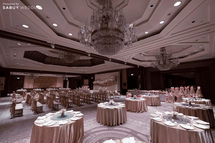 สถานที่จัดงานแต่งงาน,โรงแรม รีวิวงานแต่งริมน้ำชวนฝัน สวยอลังการ ได้งานครบทุกพิธี @The Peninsula Bangkok