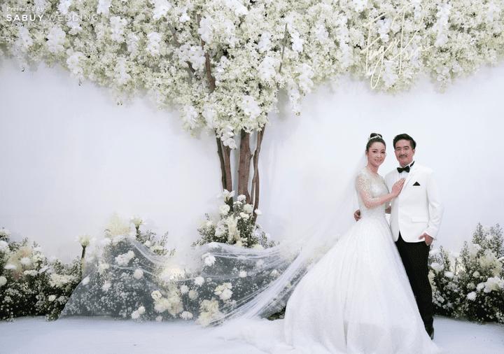 เจ้าบ่าว,เจ้าสาว,ชุดแต่งงาน,สถานที่จัดงานแต่งงาน รีวิวงานแต่งริมน้ำชวนฝัน สวยอลังการ ได้งานครบทุกพิธี @The Peninsula Bangkok