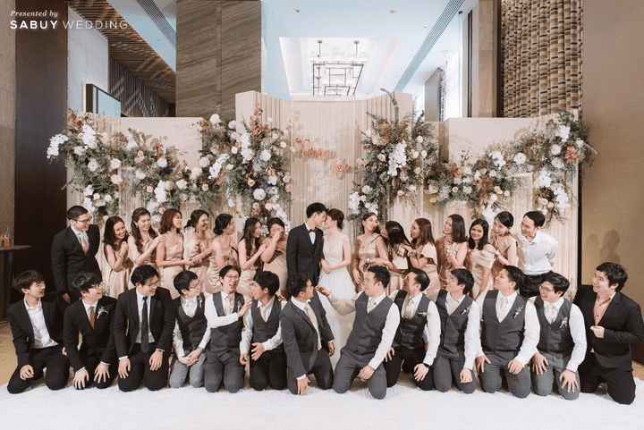 งานแต่งสุดละมุน Plan ราบรื่นไม่มีสะดุด By PaR Wedding Planner