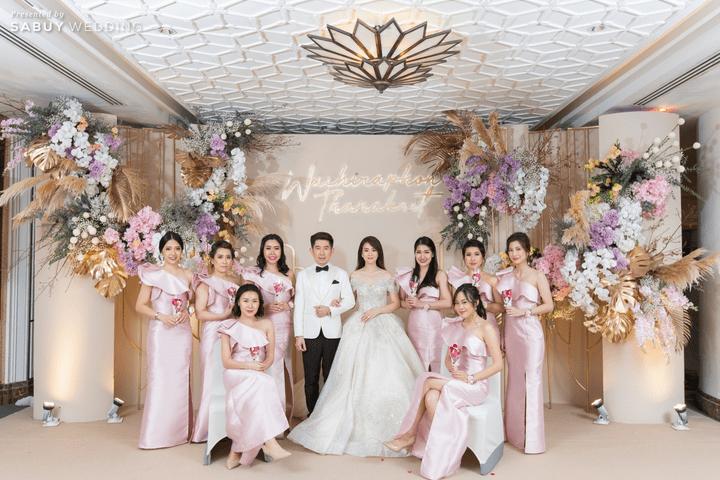 เพื่อนเจ้าสาว รีวิวงานแต่งสวย  Glam อลังการ ด้วยทริคเตรียมงานใน 3 เดือน @ The Athenee Hotel, a Luxury Collection Hotel, Bangkok