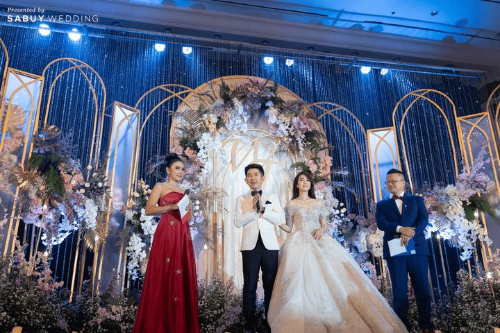 งานแต่งงาน,ชุดแต่งงาน,ชุดเจ้าสาว รีวิวงานแต่งสวย  Glam อลังการ ด้วยทริคเตรียมงานใน 3 เดือน @ The Athenee Hotel, a Luxury Collection Hotel, Bangkok