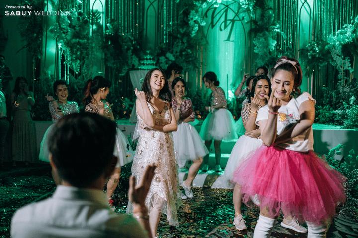 งานแต่งงาน,ชุดอาฟเตอร์ปาร์ตี้ รีวิวงานแต่งสวย  Glam อลังการ ด้วยทริคเตรียมงานใน 3 เดือน @ The Athenee Hotel, a Luxury Collection Hotel, Bangkok