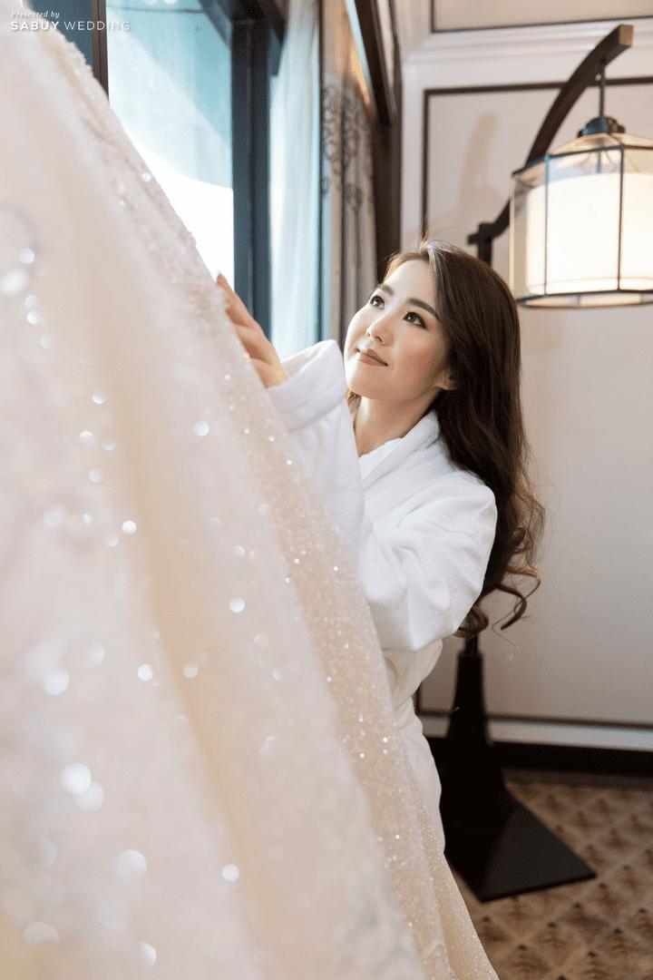 ชุดเจ้าสาว,ชุดแต่งงาน,สถานที่จัดงานแต่งงาน รีวิวงานแต่งสวย  Glam อลังการ ด้วยทริคเตรียมงานใน 3 เดือน @ The Athenee Hotel, a Luxury Collection Hotel, Bangkok