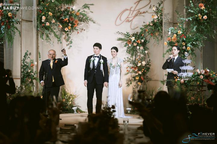 เจ้าบ่าว,เจ้าสาว รีวิวงานแต่ง Long Table บรรยากาศดี ในสถานที่แต่งงานใหม่สไตล์ Luxury @ Rosewood Bangkok