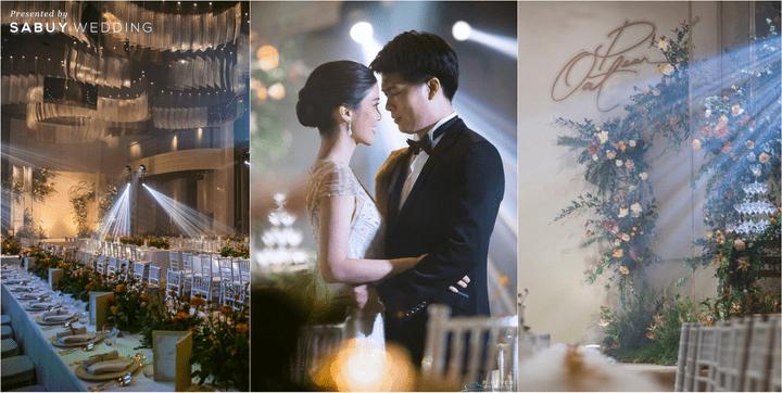 ตกแต่งงานแต่งงาน,เจ้าบ่าว,เจ้าสาว,RosewoodBangkok รีวิวงานแต่ง Long Table บรรยากาศดี ในสถานที่แต่งงานใหม่สไตล์ Luxury @ Rosewood Bangkok