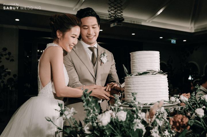 เค้กแต่งงาน รีวิวงานแต่งสวยสไตล์ธรรมชาติ บรรยากาศอบอุ่นใจกลางเมือง @ The Botanical House Bangkok
