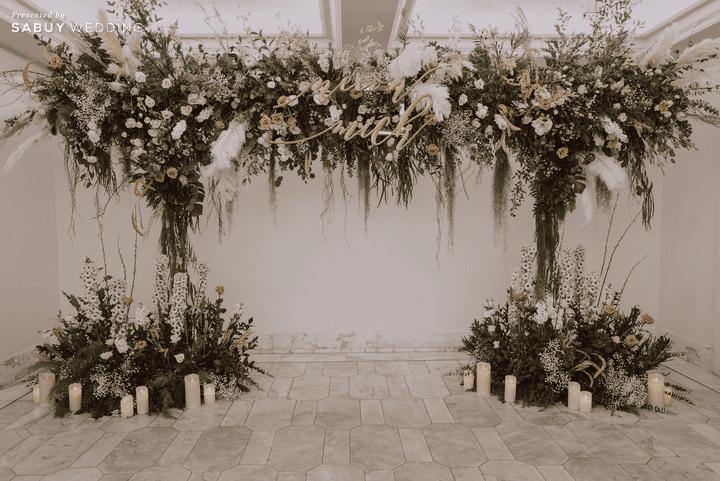 ตกแต่งงานแต่งงาน,ออแกไนเซอร์ รีวิวงานแต่งสวยสไตล์ธรรมชาติ บรรยากาศอบอุ่นใจกลางเมือง @ The Botanical House Bangkok