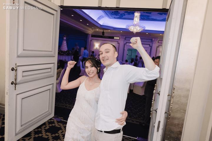 ชุดแต่งงาน รีวิวงานแต่งหมั้นฉลอง ในห้องบอลรูมโฉมใหม่!! @ Narai Hotel