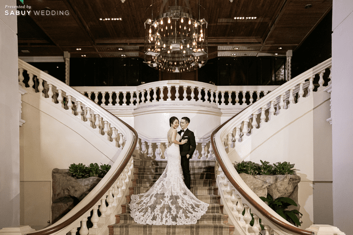 เจ้าบ่าว,เจ้าสาว,สถานที่แต่งงาน รีวิวงานแต่งสุด Classy ด้วยธีมสี Slate Blue และคริสตัล @ Grand Hyatt Erawan Bangkok
