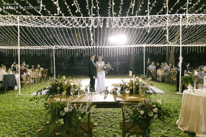รวมไอเดียจัดงานแต่ง Outdoor ตอนเย็นให้สวยปัง!!