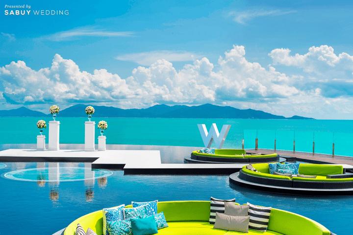 W KOH SAMUI,Marriott Wedding Thailand,แมริออท ประเทศไทย,สถานที่แต่งงาน,สถานที่จัดงานแต่งงาน,โรงแรม,งานแต่งงาน,งานแต่ง outdoor,งานแต่งริมทะเล,งานแต่งชายทะเล ครบทุกความต้องการของบ่าวสาว กับ 40 สถานที่แต่งงานในเครือ Marriott