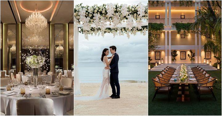 ครบทุกความต้องการของบ่าวสาว กับ 40 สถานที่แต่งงานในเครือ Marriott