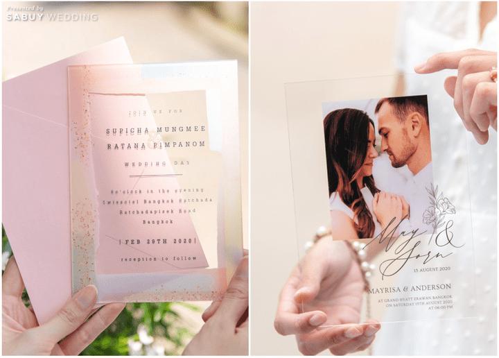 อัพเดทเทรนด์การ์ดแต่งงานปี 2021 สวยเก๋ หลากสไตล์!