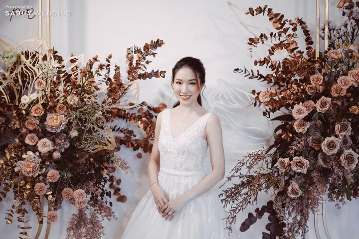 งานแต่งหวานละมุน แขกเอนจอย บ่าวสาวแฮปปี้ By PaR Wedding Planner