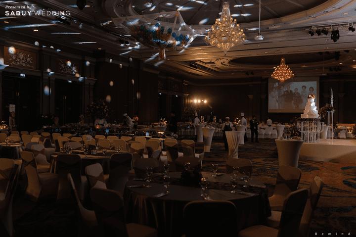 สถานที่แต่งงานขนาดใหญ่ รีวิวงานแต่งเช้าเลี้ยงเย็นไซส์ใหญ่ จัดงานสุดเซอร์ไพรส์ได้ใจแขก @ The Berkeley Hotel Pratunam