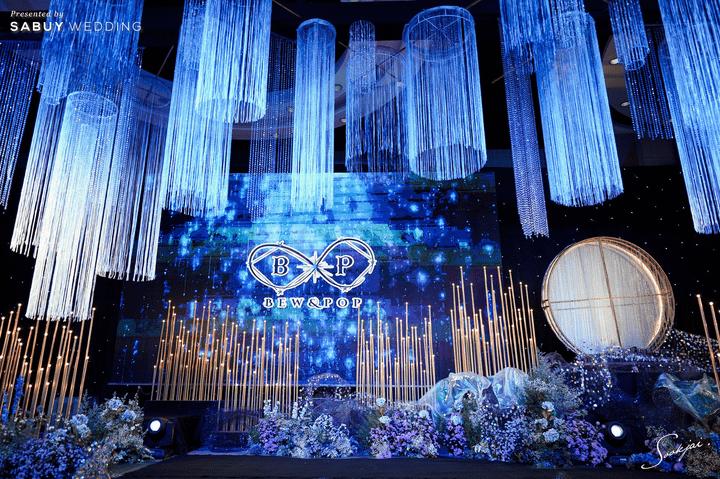 รีวิวงานแต่งธีมจักรวาลสุดโรแมนติก กับกิมมิคเปิดตัวด้วยพระจันทร์หมุนได้! @ Bangsaen Heritage Hotel