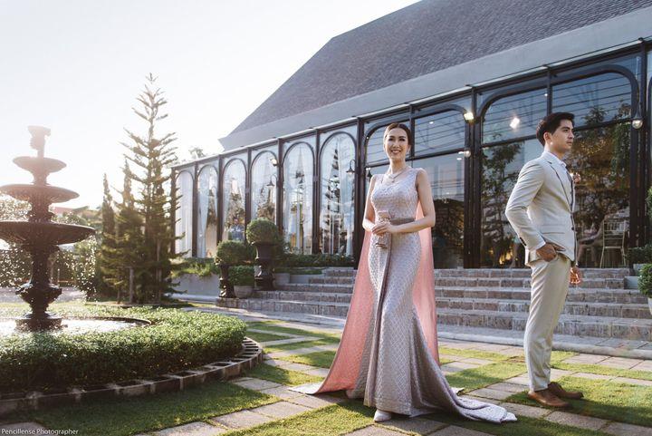 รีวิวงานแต่ง Greenery Style สวยละมุนใจ บรรยากาศอบอุ่น @ Country Cottage