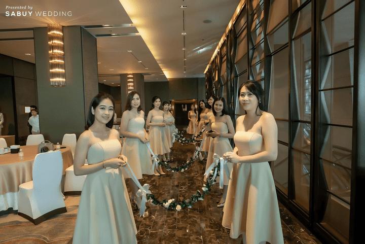 รีวิวงานแต่งสวยละมุนใจ ด้วยโทนสี Old rose @The Okura Prestige Bangkok