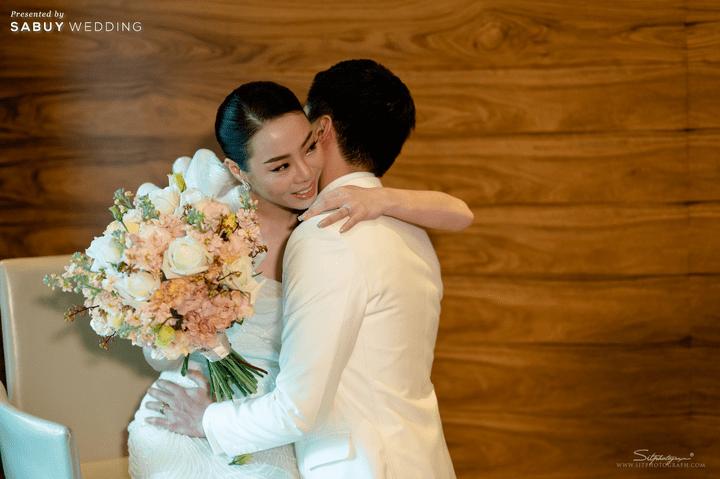 ช่อดอกไม้เจ้าสาว รีวิวงานแต่งสวยหรูดูชิค กับเทคนิคคุมงบให้อยู่หมัด  @ Siam Kempinski Hotel Bangkok