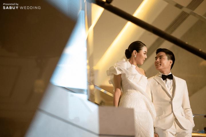 รีวิวงานแต่งสวยหรูดูชิค กับเทคนิคคุมงบให้อยู่หมัด  @ Siam Kempinski Hotel Bangkok