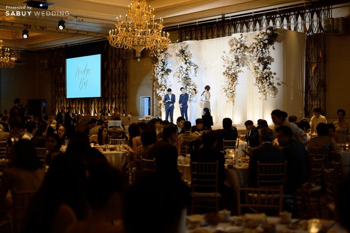 งานแต่งงาน รีวิวงานแต่งสวยหรูดูชิค กับเทคนิคคุมงบให้อยู่หมัด  @ Siam Kempinski Hotel Bangkok