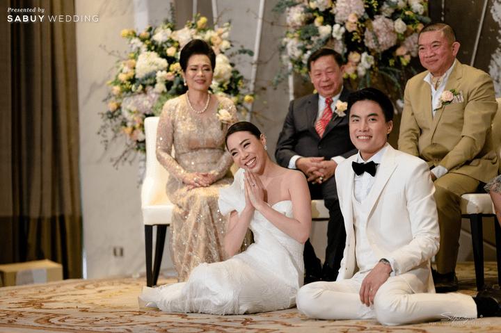พิธีแต่งงาน รีวิวงานแต่งสวยหรูดูชิค กับเทคนิคคุมงบให้อยู่หมัด  @ Siam Kempinski Hotel Bangkok