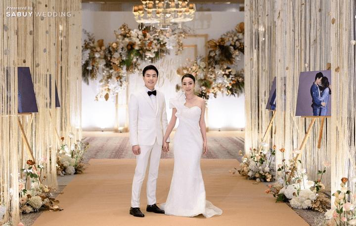 ชุดแต่งงาน,ชุดเจ้าสาว รีวิวงานแต่งสวยหรูดูชิค กับเทคนิคคุมงบให้อยู่หมัด  @ Siam Kempinski Hotel Bangkok