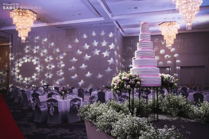 เค้กแต่งงาน รีวิวงานแต่งสวยมีกิมมิคกับทริคจัดงานช่วยคุมบัดเจท @ S31 Sukhumvit Hotel