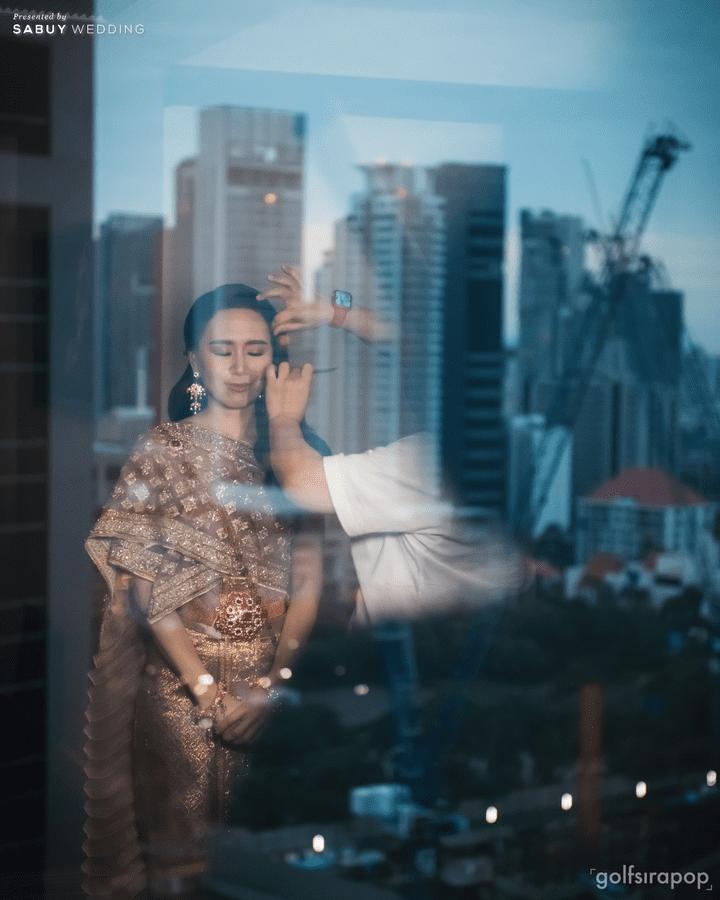 ชุดไทยเจ้าสาว รีวิวงานแต่งสวยมีกิมมิคกับทริคจัดงานช่วยคุมบัดเจท @ S31 Sukhumvit Hotel