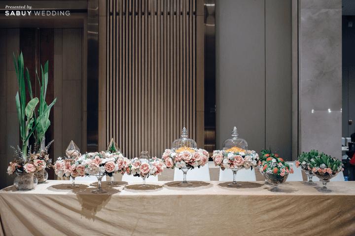 รีวิวงานแต่งในโรงแรม Service ดี กับการตกแต่งโทนสีเขียว-น้ำตาลดูอบอุ่น @ Hotel Nikko Bangkok