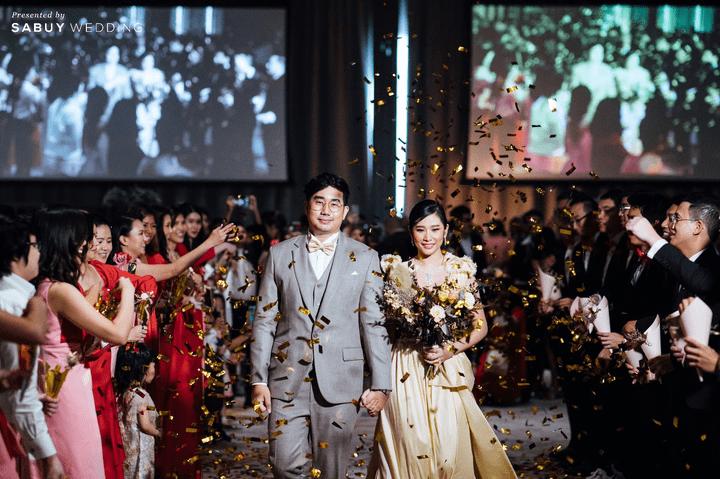 รีวิวงานแต่งสวยเรียบหรู กับงานโทนโรสโกลด์ ชมพู แดง @ Hyatt Regency Bangkok Sukhumvit