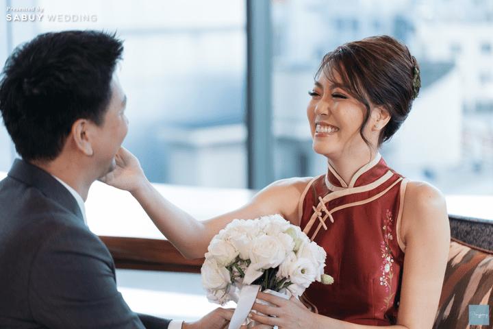 งานแต่งงาน รีวิวงานแต่งธีม Garden สีคอปเปอร์สุดปัง @ Hyatt Regency Bangkok Sukhumvit
