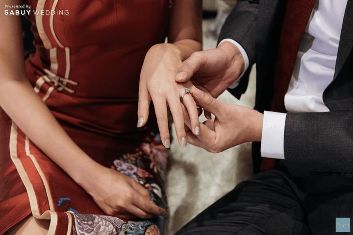 แหวนแต่งงาน รีวิวงานแต่งธีม Garden สีคอปเปอร์สุดปัง @ Hyatt Regency Bangkok Sukhumvit