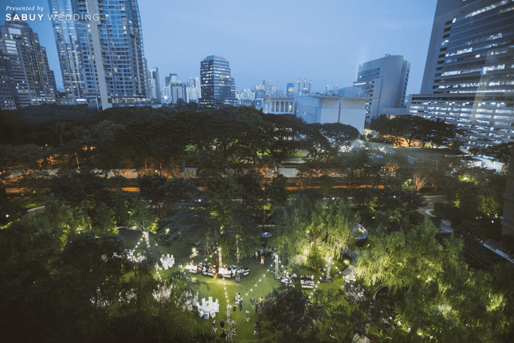 รีวิวงานแต่งคอนเซ็ปท์ Plant the Love in the Garden ปลูกรักในสวนสวย ดั่งโลกเวทมนตร์ @ Kimpton Maa-Lai Bangkok